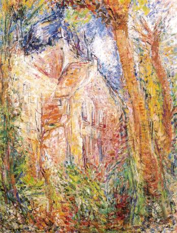 修道院の秋(パリ) 80F 1992年
